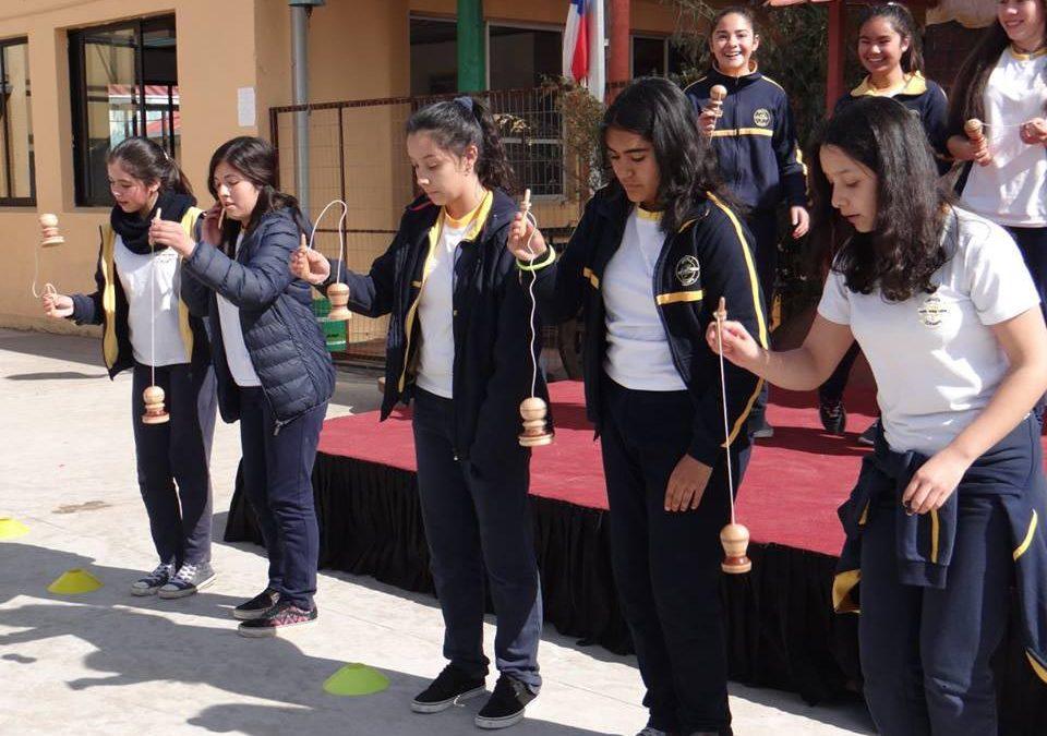 Escuela Curanipe  tuvo un día de chilenidad con juegos tradicionales